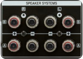 Hochwertige Lautsprecheranschlüsse