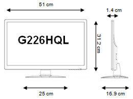 Acer G226HQLIBID 55,9cm Monitor schwarz: Amazon.de