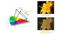 Riesiger Farbraum für eine natürliche Darstellung