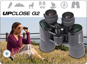 Das UpClose-G2 10-30x50 Zoom Porro Binokular