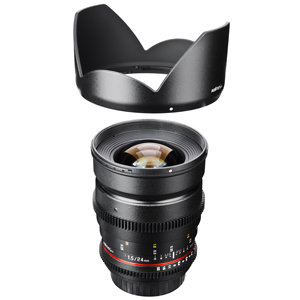 Weitwinkelobjektiv 24mm f1,5