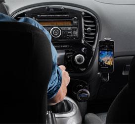 Spielen Sie über Ihr UKW-Radio Musik auf Ihrem iPod/iPhone ab