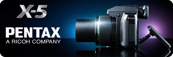 PENTAX X-5 All-in-One Digitalkamera