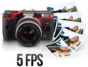 PENTAX Q10 High-Speed-Serienaufnahmen