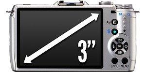 PENTAX Q10 großer 7,6 cm (3 Zoll) Monitor