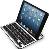 Abbild Artikel Nr. SI54127 Alu Tastatur und Case für das iPad Mini, besonderes Layout