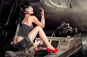 CAPSPEAK-0004: Make noise, not war.