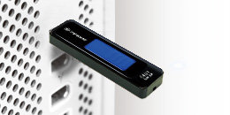 Blockiert keine angrenzenden USB-Ports
