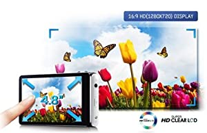 12,1 cm (4,8 Zoll) HD Super Clear
