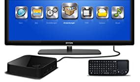 Dyon Premium Edition, Andromeda Smart-TV Box mit Touchpad