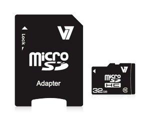 V7 Vamsdh4gcl4r 2e Micro Sdhc 4gb Class 4 Speicherkarte Computer Zubehör