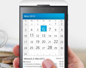 BlackBerry Kalender