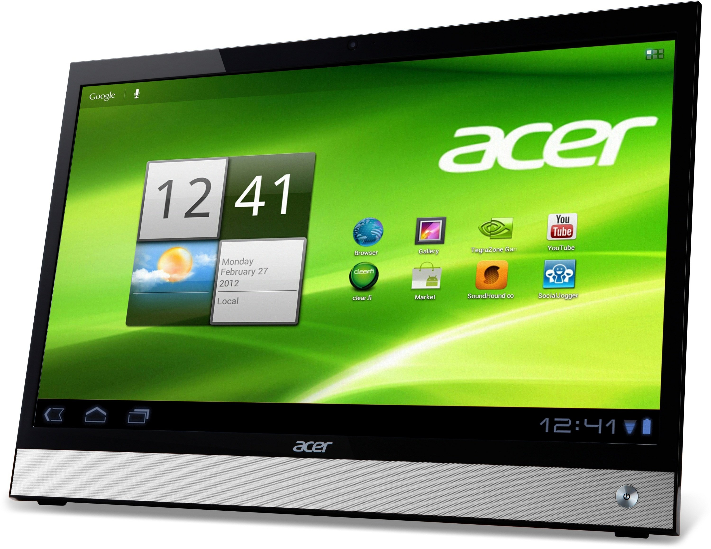 how to connect acer tablet to smart tv