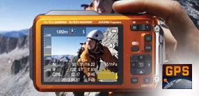 GPS Empfänger mit Kompass, Barometer und Höhenmesser