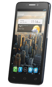 alcatel one touch idol 6030d smartphone 4 7 zoll silber. Black Bedroom Furniture Sets. Home Design Ideas