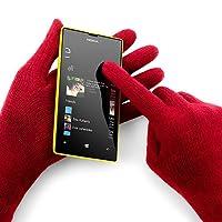 Super-empfindlicher Touchscreen. Da kannst du auch die Handschuhe anbehalten.