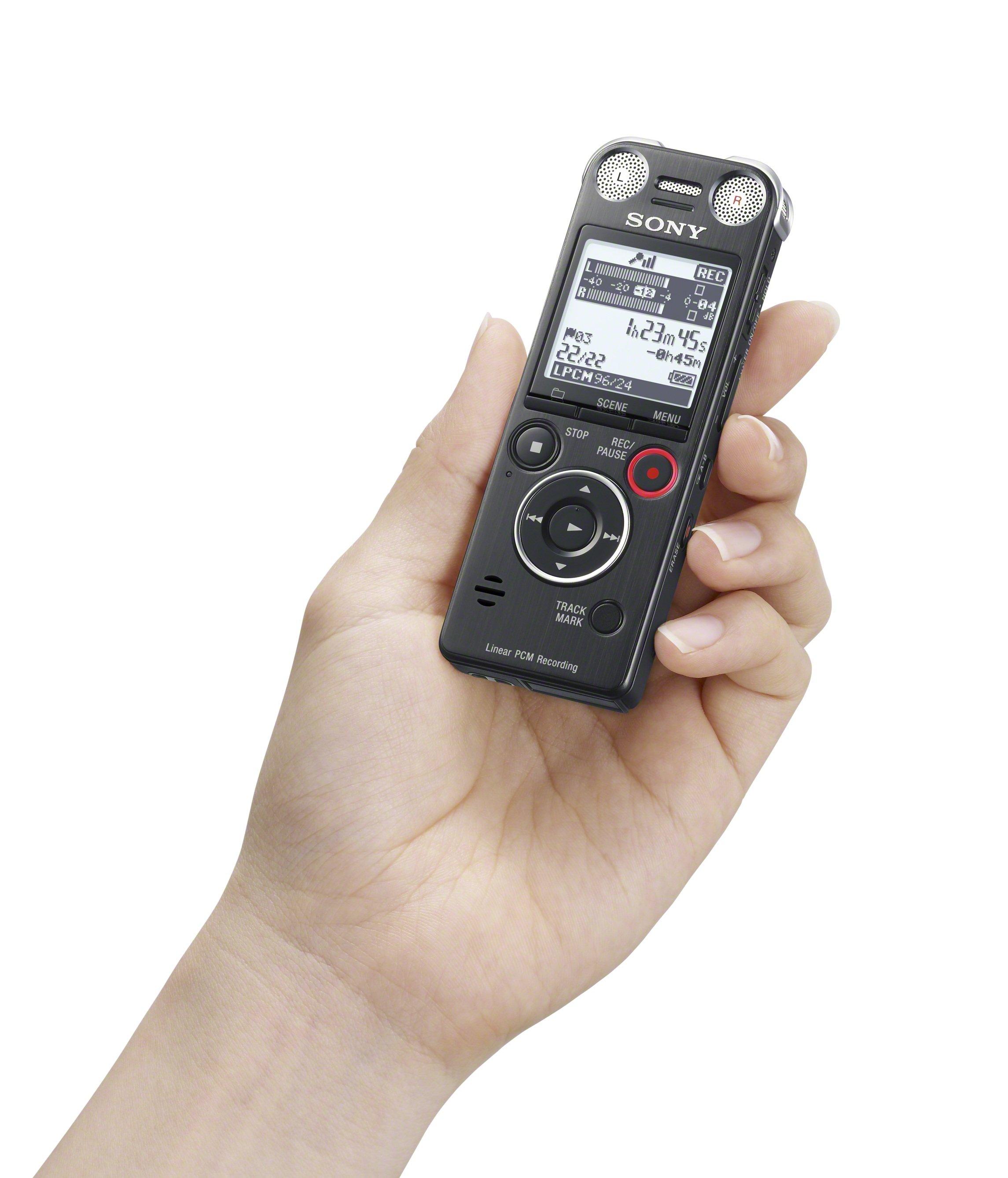 Sony ICD-SX1000 digitales Aufnahmegerät 16GB (MP3/WMA/AAC ...