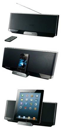 sony rdp xf300ipn docking lautsprecher bluetooth fm tuner akku f r apple ipod iphone 5 ipad. Black Bedroom Furniture Sets. Home Design Ideas