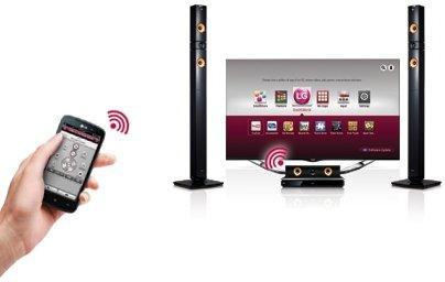 LG BH7430PB 3D Blu-Ray 5.1 Heimkinosystem (Smart TV, HDMI