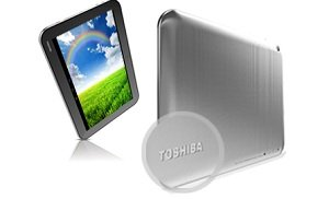 Exklusives Toshiba-Design