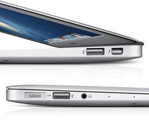 Anschlüsse des MacBook Air
