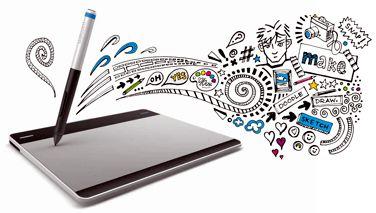 WACOM Intuos Small - Kreatives Stifttablett in Größe S