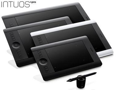 WACOM Intuos Pro M - Professionelles & kreatives Stift- und Touch-Tablett in Größe M