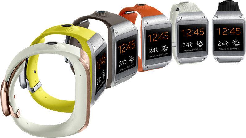 Samsung Galaxy Gear V700 Smartwatch 1,63 Zoll schwarz ...