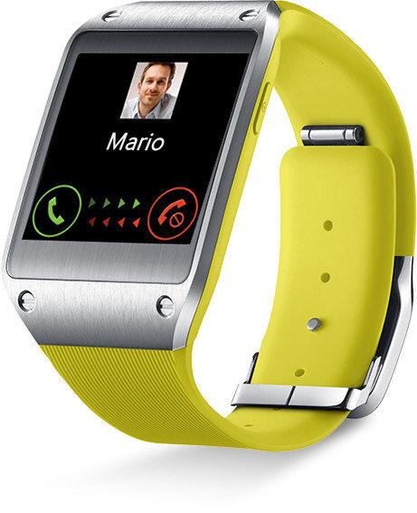 samsung galaxy gear v700 smartwatch 1 63 zoll schwarz elektronik. Black Bedroom Furniture Sets. Home Design Ideas
