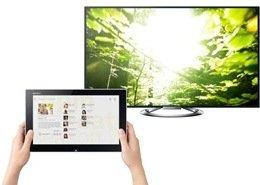 Multimedia-Zentrale im Wohnzimmer