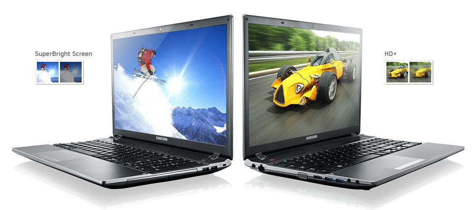 Samsung Serie 5 550P7C-T0A 43,9 cm Notebook silber: Amazon