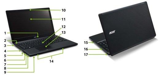 Acer TravelMate P455-M-54204G50Makk 39,6 cm Laptop: Amazon