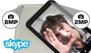 Optimiert für Skype