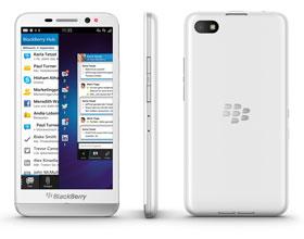 Das BlackBerry Z30 Smartphone