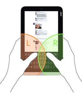 Ultraschlanker Formfaktor für aktive Anwender