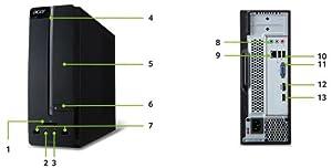 Acer Aspire XC-605 Desktop-PC: Amazon.de: Computer & Zubehör