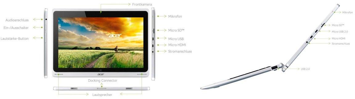 Acer Aspire Switch 10 SW5-011 25,7 cm Convertible: Amazon