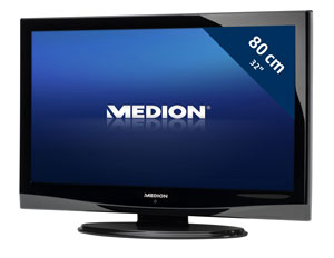 Medion E15318 80 cm (32 Zoll) LCD-Fernseher (HD-Ready, DVB