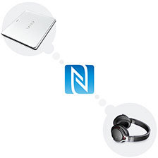 One‐Touch listening mit NFC
