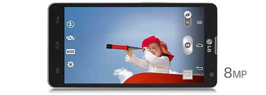 LG L9II - Kamera