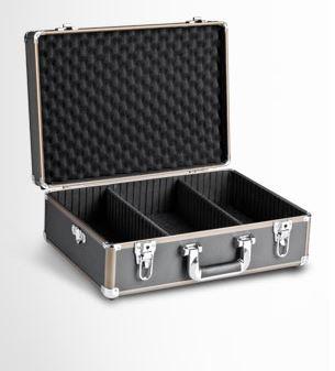 Mantona Foto-Koffer Basic M, schwarz