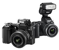 Nikon 1 V2 Integrierter iTTL-Blitz