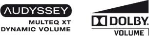 Audyssey DSX / Dolby Pro Logic IIz