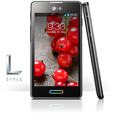 LG E460 Optimus L5 II  - Main View