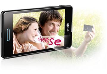 intelligente 5-Megapixel-Kamera mit Cheese Shutter