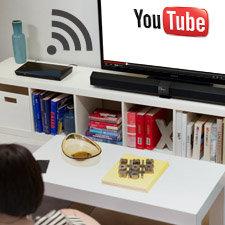 Wi‐Fi Ready zum Streamen von On‐Demand-Unterhaltung