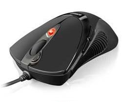 Sharkoon FireGlider Black - Gaming Laser Mouse