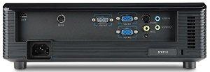 Acer X1213P DLP-Projektor - Rückseite