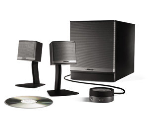 bose companion 3 multimedia lautsprecher computer zubeh r. Black Bedroom Furniture Sets. Home Design Ideas