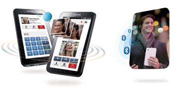 Galaxy Tab Videotelefonie
